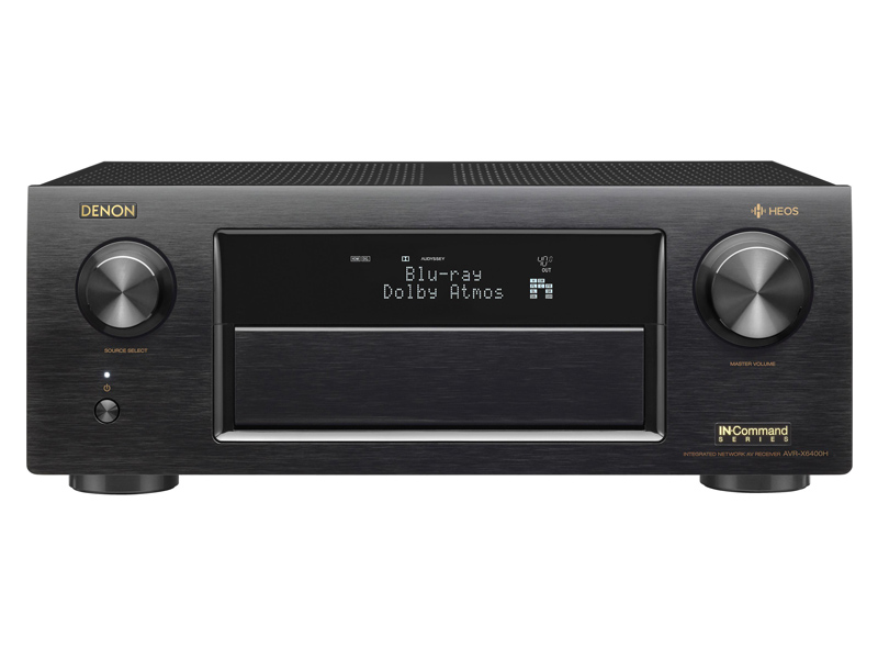 Denon 11 2 Channel Supports Dolby Atmos, Auro-3D, and DTS:X