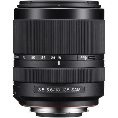 Sony DT 18-135mm f/3.5-5.6 SAM Lens - SAL18135