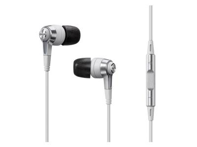 Denon In-Ear Headphones with Remote + Microphone - AH-C620RWT