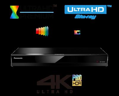 Panasonic Stunning 4K Ultra HD Images and High-Res Sound - DP-UB420