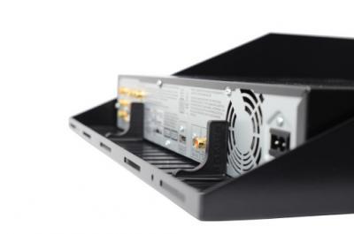 Sanus 1U Vented Shelf Fits all Component Series AV Racks - CASH21-B1
