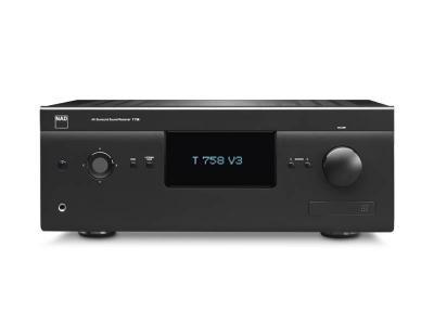 NAD A/V Surround Sound Receiver - T 758 V3i