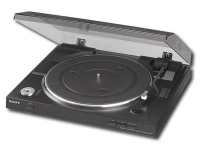 Sony - USB Stereo Turntable - Black PSLX300USB/CA