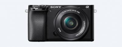 Sony α6100 APS-C Camera With 16-50mm And 55-210mm Lenses - ILCE6100Y/B