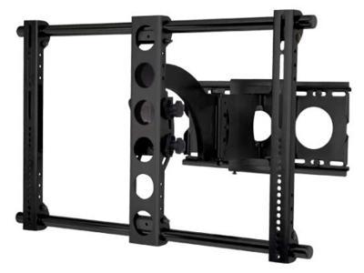 sanus full motion wall mount for 30 56 flat panel tvs vmaa18b 01. Black Bedroom Furniture Sets. Home Design Ideas