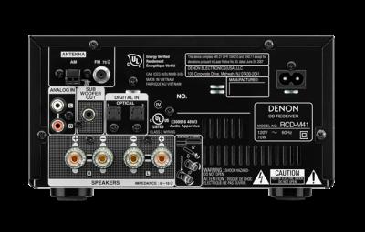Denon MICRO HI-FI SYSTEM - DM41SBK