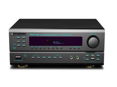 Martin Ranger 5.1 Channel 420 Watts Built In AM/FM HDMI Karaoke Receiver HDKA-2100