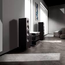 Kef  Floorstanding Speaker (Each) KF-Q550-LB