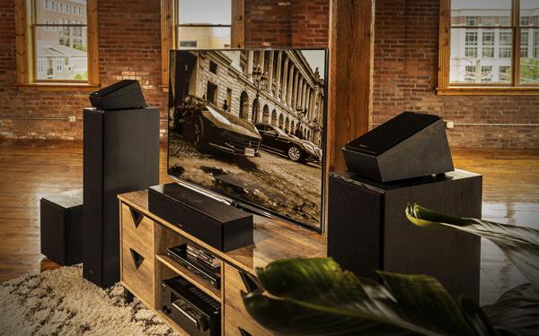 Klipsch Dolby Atoms Elevation / Surround Speaker - R41SAB (Pair)